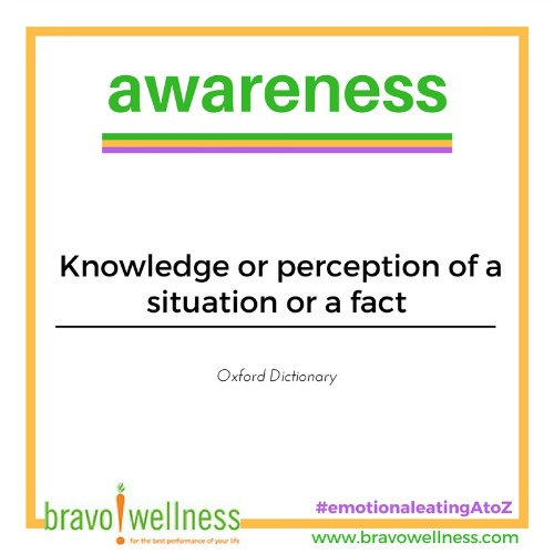 Definition Of Awareness