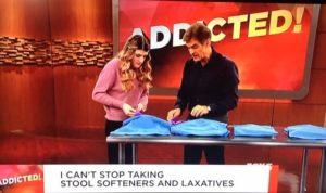women ashamed of laxative use